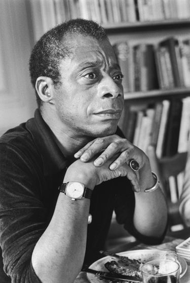 American writer James Baldwin, 1976.