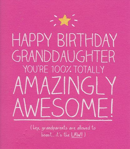 Happy Birthday Granddaughter Quotes. QuotesGram by @quotesgram