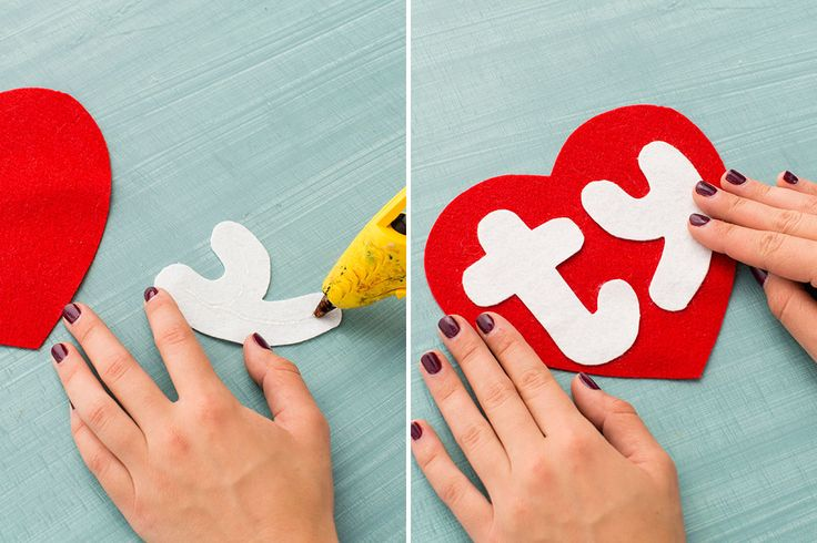 Make a Beanie Baby costume with this DIY.