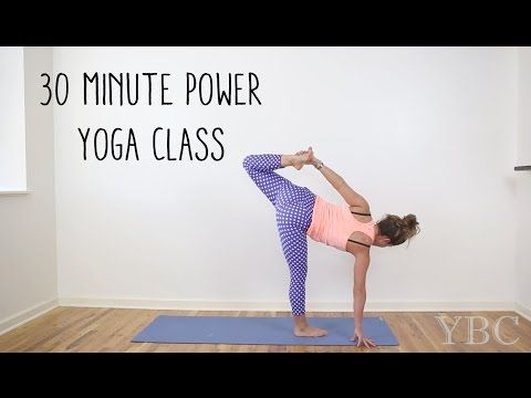 30 Minute Power Yoga Class for Strength Building — YOGABYCANDACE