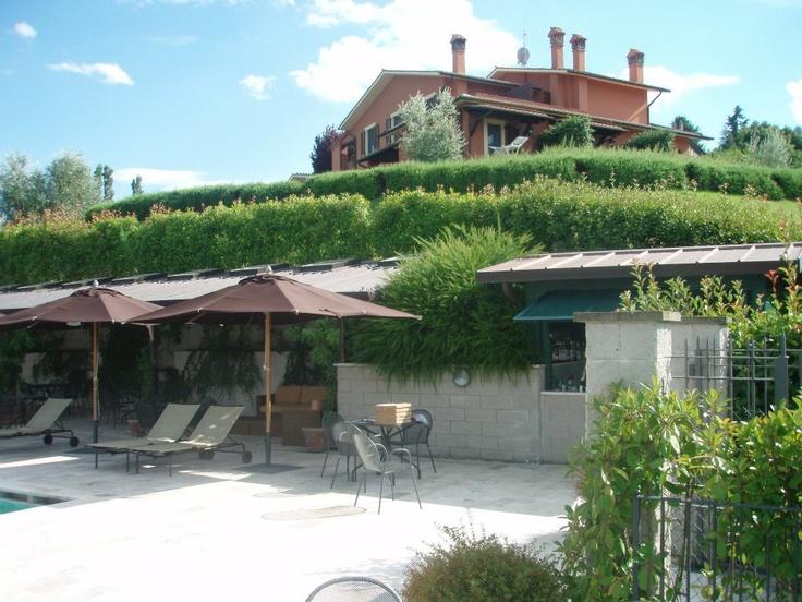 La Rocca hotel at Orvieto