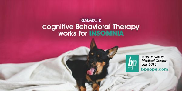 cognitive behavioral therapy for insomnia pdf