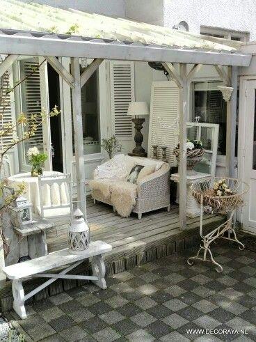 7 besten Hauseingang Bilder auf Pinterest Balkon, Garten terrasse - garderobe selber bauen schner wohnen