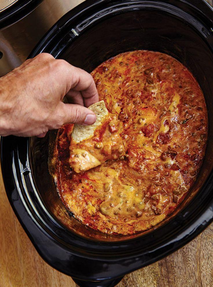 Recette de Ricardo de sauce au fromage et à la viande pour nachos