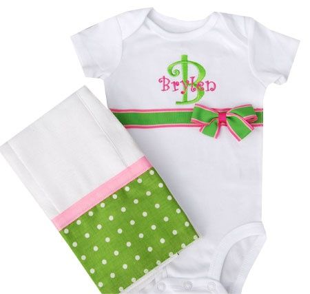 machine embroidery projects | Machine Embroidery Projects / Precious way to decorate a onesie.