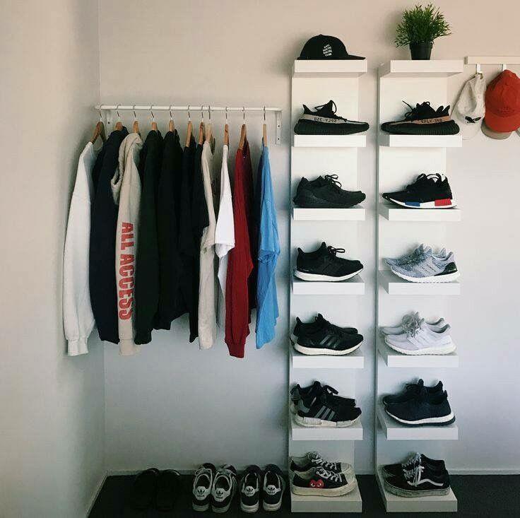 Boys Bedroom Shoe Storage