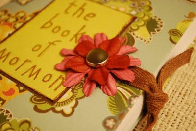 Cute Covered Book of Mormon - fun craft and activity to focus on the Book of Mormon!