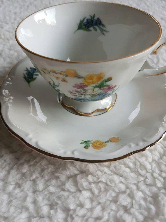 Bekijk dit items in mijn Etsy shop https://www.etsy.com/nl/listing/502041341/kronester-bavaria-vintage-koffie-kopje