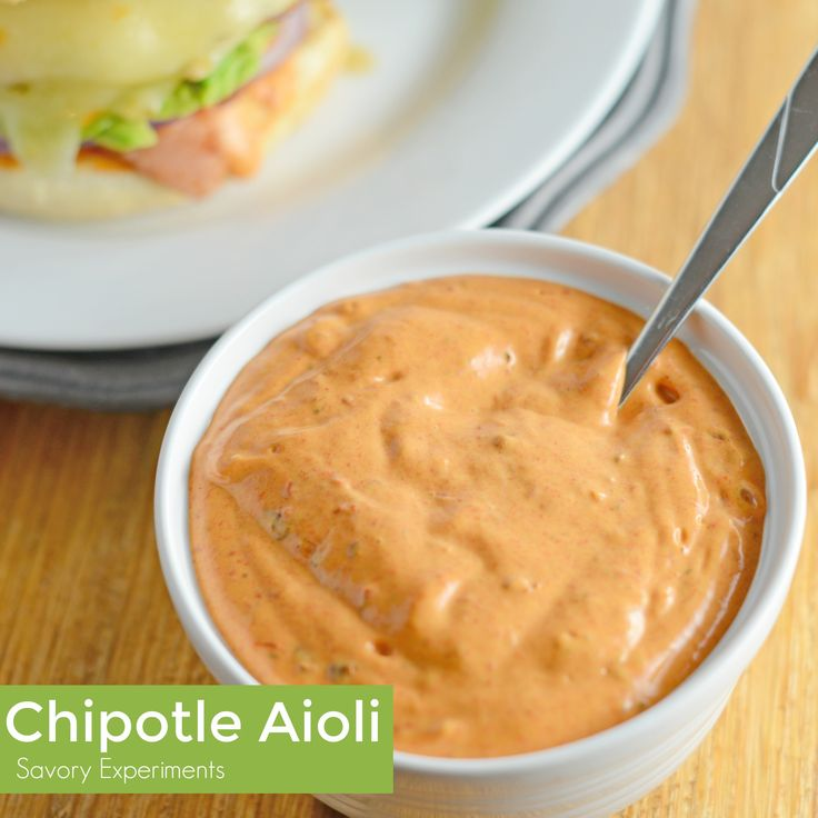 Creamy Chipotle Aioli is a quick and zesty sauce perfect for dipping or spreading on sandwiches.
