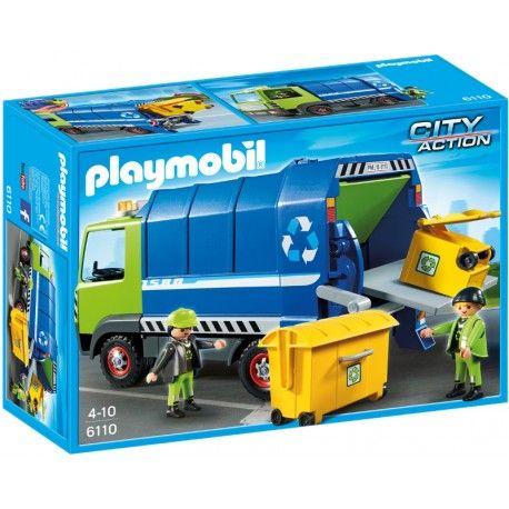 Mamy już poniedziałek :)  Wyprodukowany w Niemczech Zestaw Playmobil 6110 - Nowa Śmieciarka do Recyklingu serii City Action  Zabawka dzieci od lat 4, w zestawie min. śmieciarka z ruchomymi elementami, dwie figurki, kosze na śmieci oraz kontener.  Sprawdźcie sami:)  http://www.niczchin.pl/playmobil-city-action-zycie-w-miescie/2122-playmobil-6110-nowa-smieciarka-do-recyklingu.html  #plamobil #cityaction #smieciarkazabawka #zabawki #niczchin #krakow