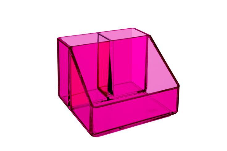 Loja Coza - Porta Cosméticos 3 Divisórias - brinox