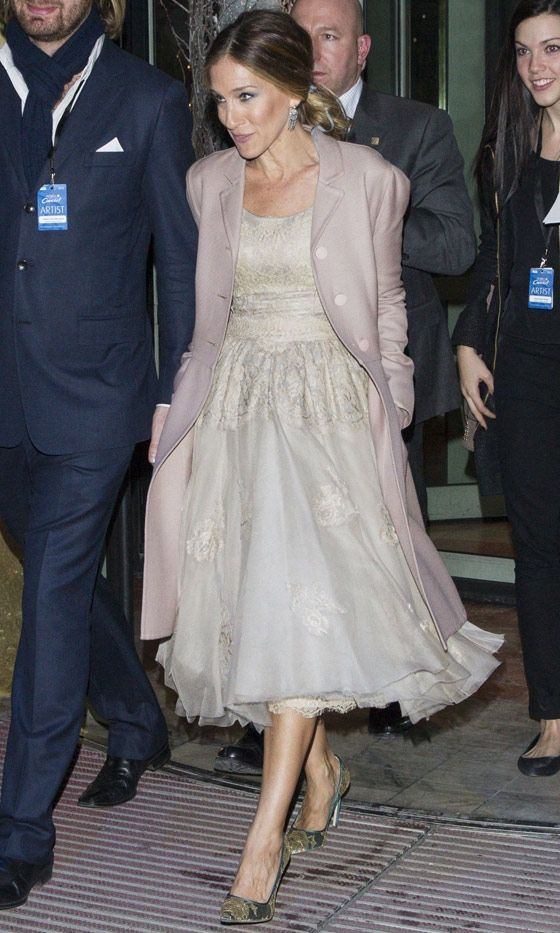 Sarah Jessica Parker At The Nobel Peace Prize Concert, 2012