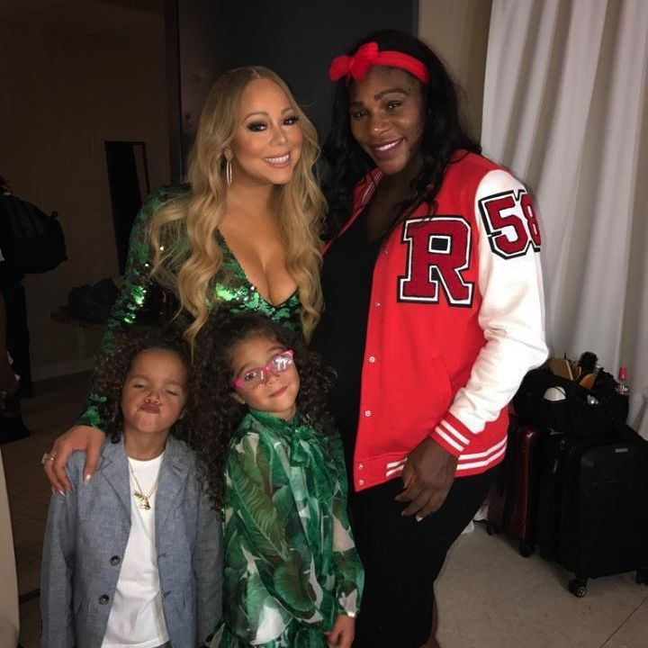 """3,126 Likes, 97 Comments - Mariah Carey (@mariahcarey) on Instagram: """"With the beautiful @serenawilliams backstage tonight """""""