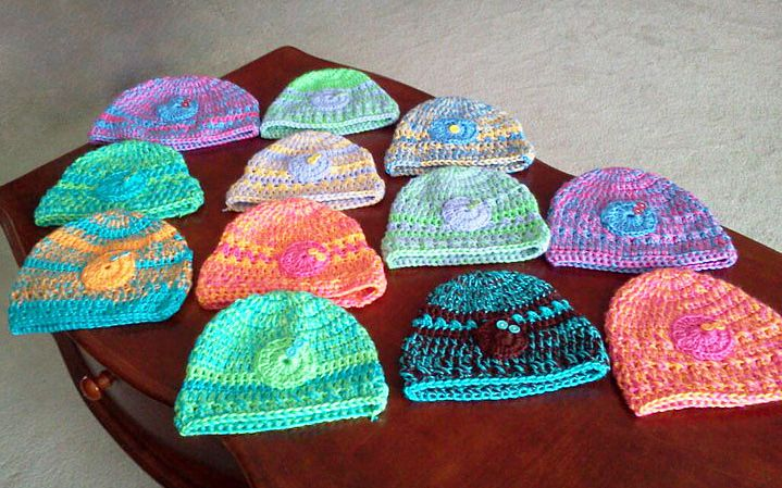 Free Cancer Crochet Patterns | CROCHET HAT PATTERNS FOR CANCER - Crochet Club