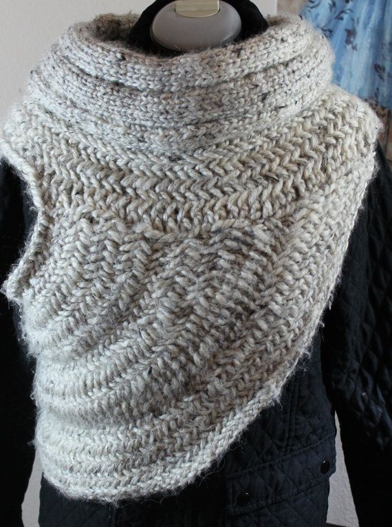 custom made to order katniss inspired cowl scarf