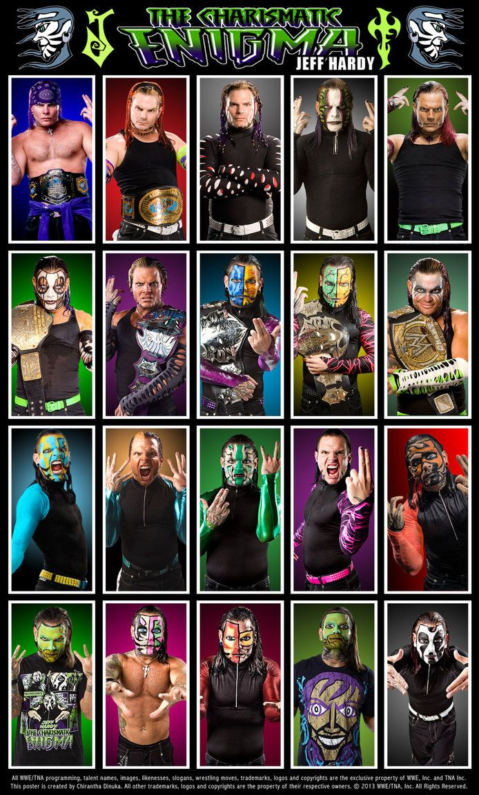 Jeff Hardy Poster by Chirantha on DeviantArt