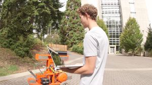 Robots on campus  l  #UVic Think Fast video contest