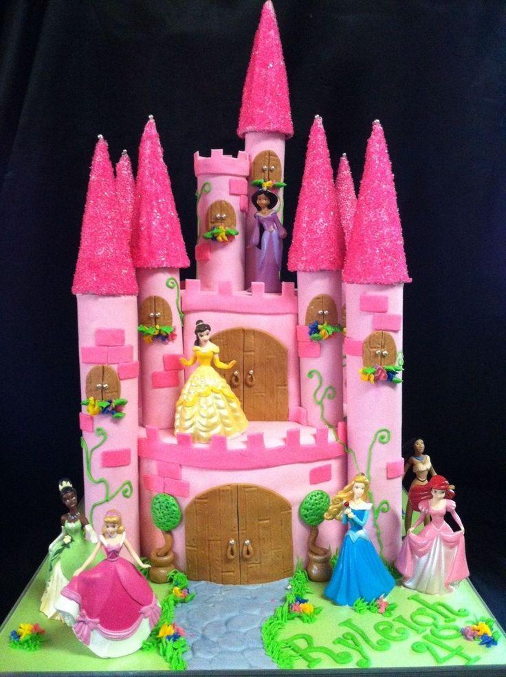Pictures Of Princess Castle Cake : Princess Castle Cake Let them eat CAKE! Pinterest