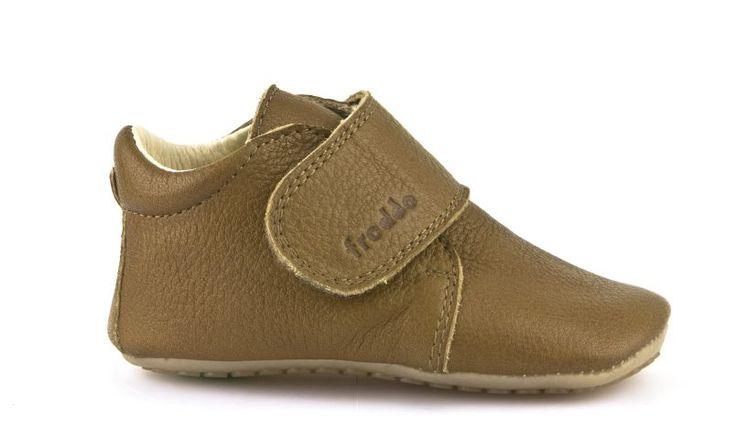 FRODDO barefoot topánky Prewalkers Cognac - FRODDO