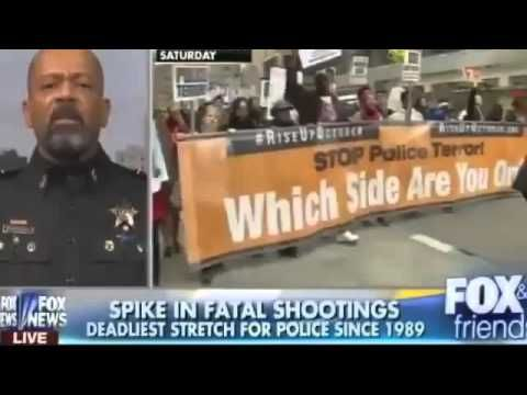 Sheriff David Clarke  'There is no police brutality in America'