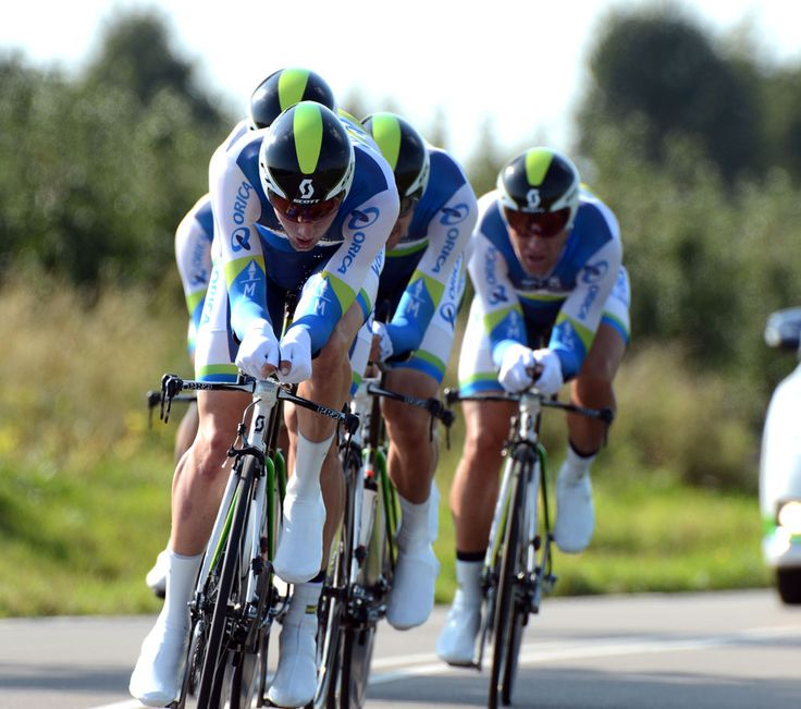 ORICA GreenEDGE Cycling Australia : News : Bronze Medal for ORICA-GreenEDGE at World Championships in Team Time Trial newsdetail