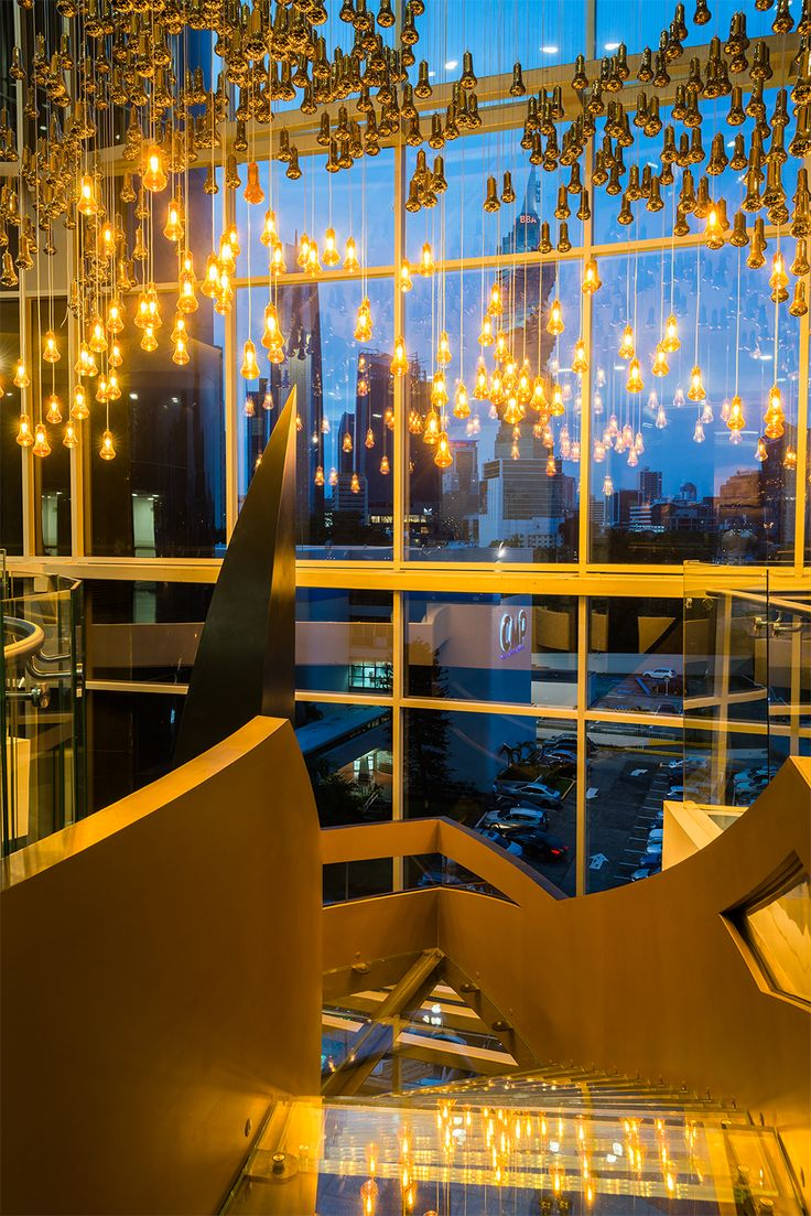 Vibrant spaces for shining moments.  www.lasamericasgoldentower.com