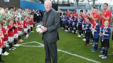 Former Man Utd and Northern Ireland keeper Harry Gregg is to be honoured with the launch of a foundation in his name.