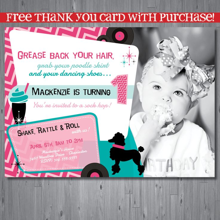 28 best Sock Hop Party Theme images on Pinterest | Invitation ...