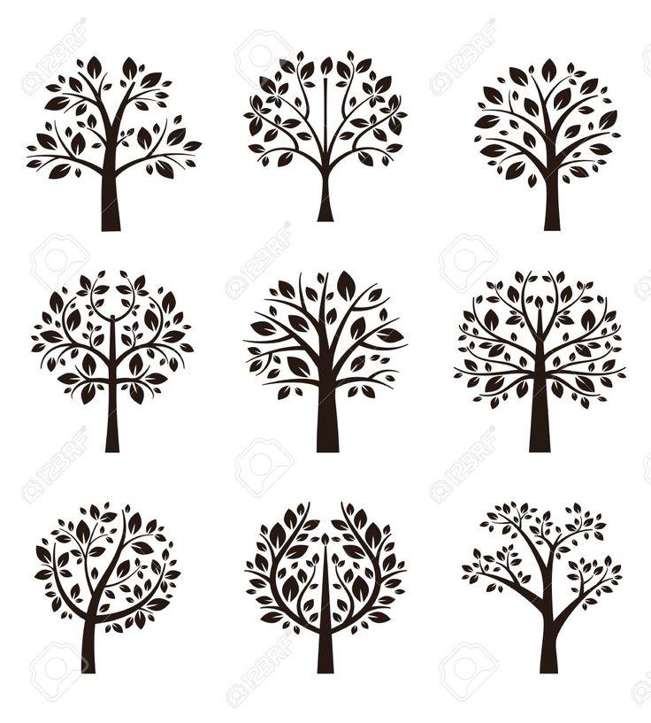 36805976-Silhouette-albero-con-radici-e-rami-Archivio-Fotografico.jpg 1170 × 1300 pixlar