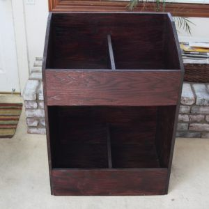 Record Storage Cabinet Plans