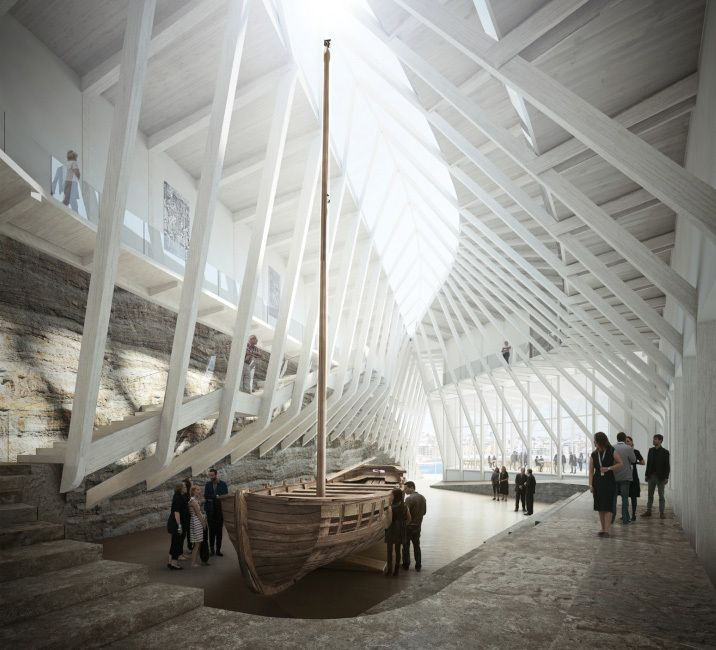 Image 2 of 12 from gallery of Helen & Hard Win Competition to Built Waterfront Cultural Museum in Norway. Courtesy of Helen & Hard