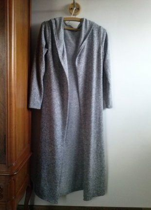 Kup mój przedmiot na #vintedpl http://www.vinted.pl/damska-odziez/peleryny-narzutki/18250449-narzutkaplaszczyk-kolor-melanz-rozm-3638