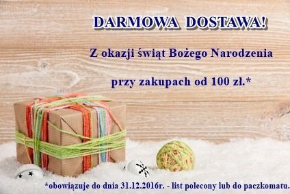 Christmas background with gift box and decorations
