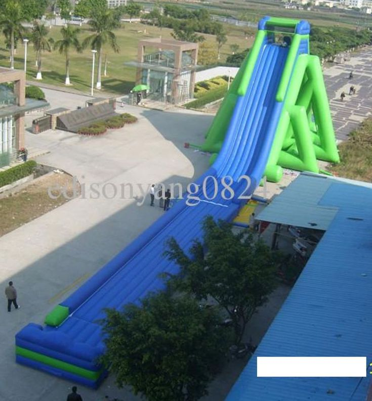 Inflatable Bounce House Castle Water Slide Obstacle Course Trampoline Commercial #Bounce
