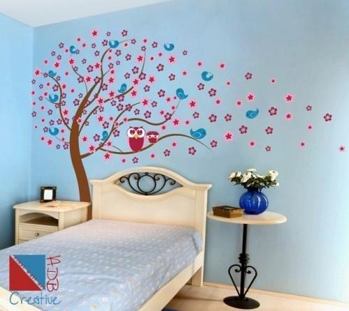 13 besten baum eulen wanddeko bilder auf pinterest eulen kinderzimmer ideen und baum. Black Bedroom Furniture Sets. Home Design Ideas