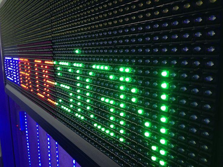 Yeşil P10 Led Paneller