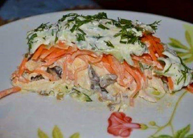 Самый вкусный салат простой и, действительно, очень-очень вкусный.