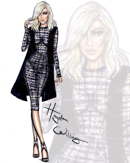 hayden williams, art, and kim kardashian image