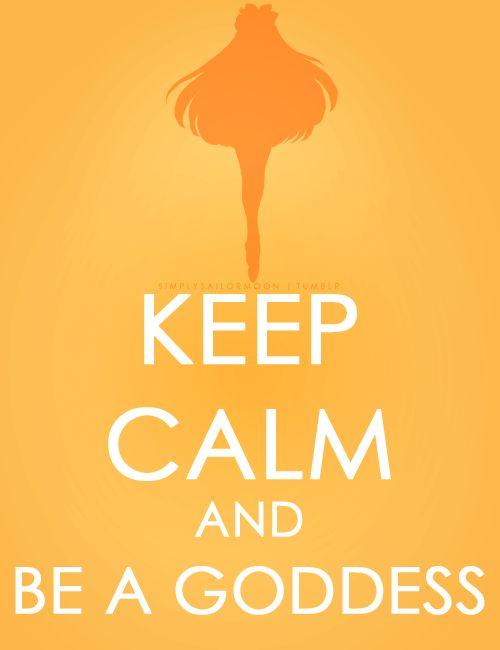 Keep calm and Sailor Venus