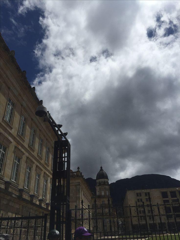 Captitolio nacional y palacio de Nariño, Bogotá - Colombia