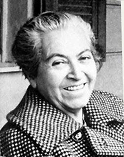 Gabriela Mistral - famous Chilean writer/poet