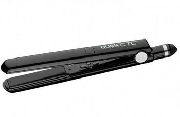 Rusk professional titanium str8 ceramic flat Iron... Check its features and reviews on the table at http://www.hairstraightenermodels.com/flat-iron-comparison/
