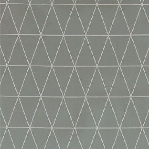 Vaxduk ljusgrå m grafiskt mönster
