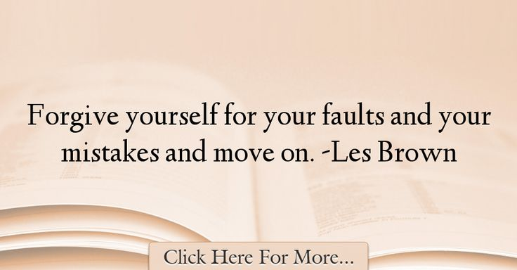 Les Brown Quotes About Forgiveness - 24091