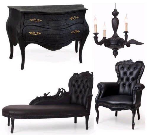 Madame Macabre: Ideas para decorar habitaciones con estilo gótico.