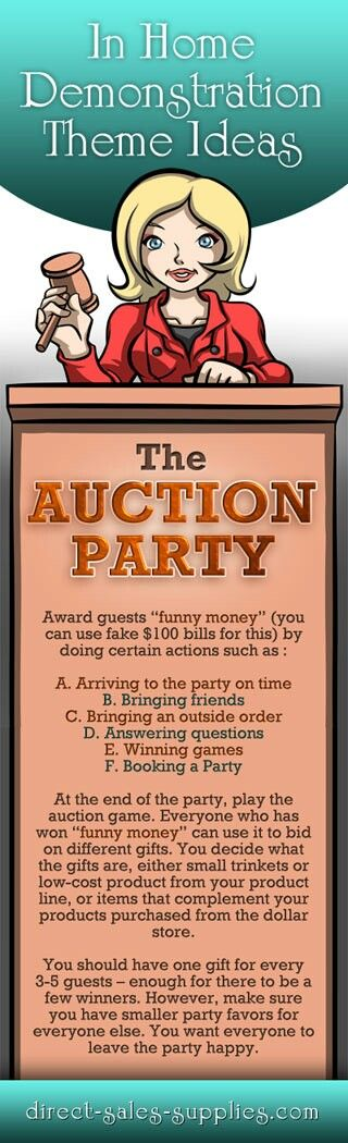 Auction Party! To play  this game contact Ronnie Lemoine  Independent Tupperware Consultant. 702-234-4144 or by visiting www.twronnie.com
