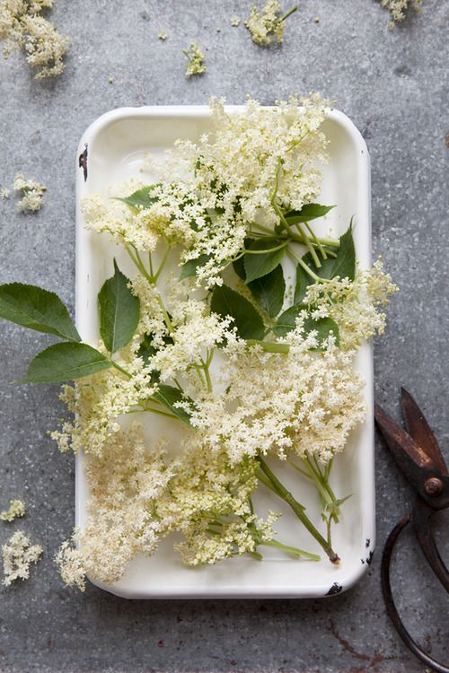 Elderflowers. So Danish! Maybe on the table or in a ceremony bouquet. If it's hard to find or pricey, it's not necessary