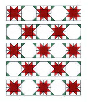 Sew a Joyous Celebration, an Easy Star Quilt Pattern: Assemble the Joyous Celebration Star Quilt