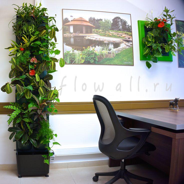 Фитомодуль Flowall Totem   фитостены   фитомодули #verticalgarden #greenwall #livingwall #Green #Wall #minigarden #фитокартины #фитостены #Flowall