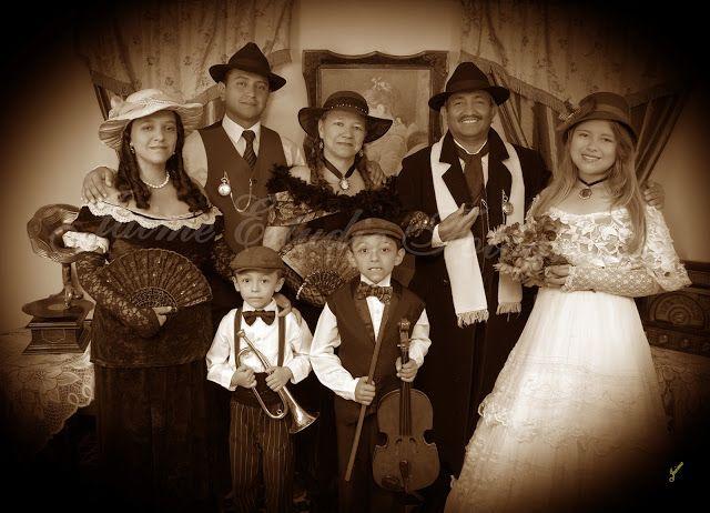 Mi familia a la antigua